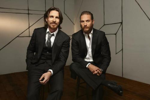 Tom Hardy Christian Bale pic